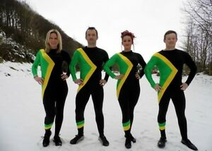 Jamaican Bobsled Fancy Dress Costume / Jamaica Team Bobsleigh Olympic large