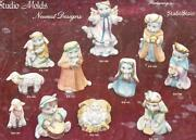 Ceramic Molds Nativity