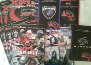 Football Program Lot
