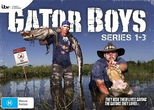 Gator Boys : COMPLETE COLLECTION Series - Season 1 2 3 : NEW DVD