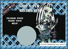 Unbranded Monster High Birthday, Child Party Supplies