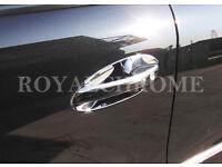 Deluxe ROYAL CHROME Door Handle Trims x2 for Mercedes SLK R170 CLK A208 C208