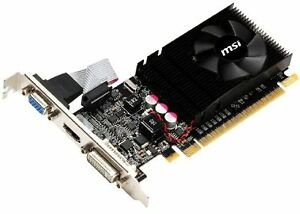 GE-Force GT 610 1  GB DDR3 Video Card
