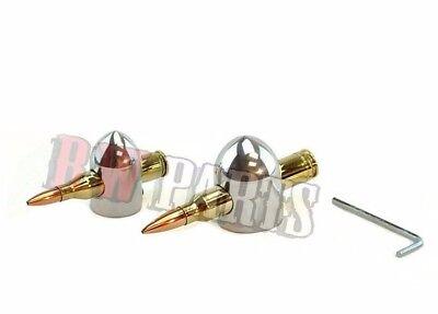 Lincoln Polished Bullet Knobs Sa-200 Sa-250 Codes Below 8000 8023 Bw832-pol