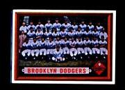 1957 Topps Brooklyn Dodgers # 324