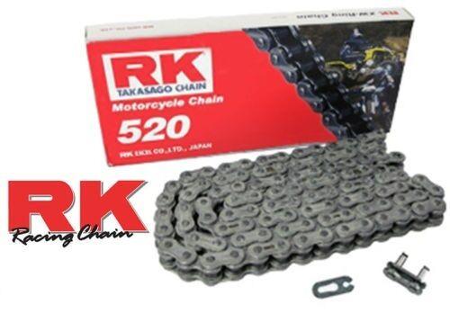 RK 520 MOTOCROSS CHAIN KAWASAKI KXF 250 450 KLX 450 118 LINK