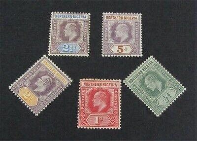 nystamps British Northern Nigeria Stamp # 13//29 Mint OG H $36   L23x2060