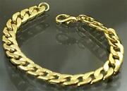 Panzerkette Armband Gold