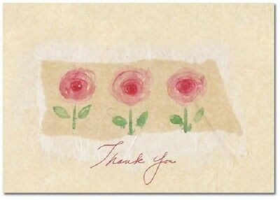 La Jardin Rose Wedding Bridal Shower Thank You Notes 24/pk