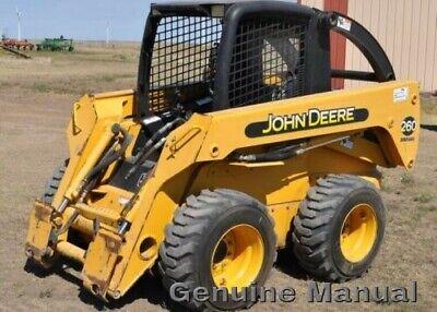 John Deere 260 270 Skid Steer Loader Technical Service Manual Tm1780 Pdf