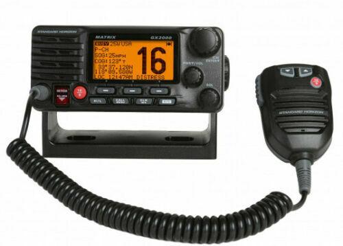 Standard Horizon GX2000 Matrix VHF Marine Boat Radio with AIS/GPS 30W PA Hailer
