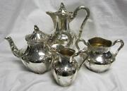 Solid Silver Tea Set