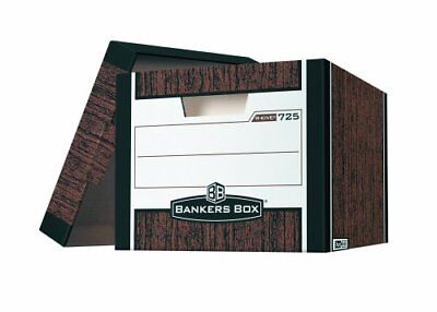 Bankers Box R-kive - Letterlegal Woodgrain - Stackable - Heavy Duty Fel00725