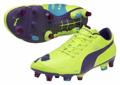 Puma EvoPOWER 1 Mixed Soft Ground Mens Football Boots - Yellow