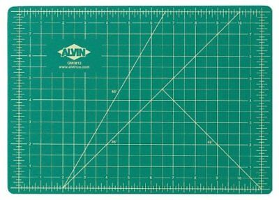 (Alvin GBM0812 Professional Cutting Mat, 12 x 8.5 inches, 3mm thick, Reversible)