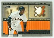 Barry Bonds Patch