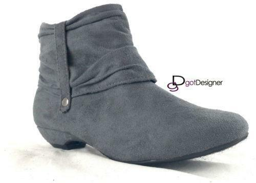 womens flat ankle boots ebay