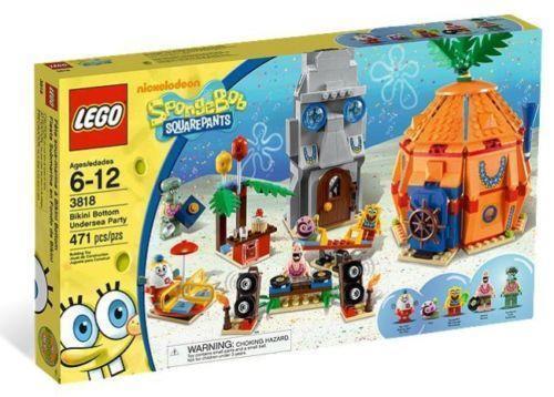 lego spongebob sets ebay