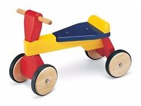 Great brand new in original packaging Pintoy trike for toddlers. Never opened.