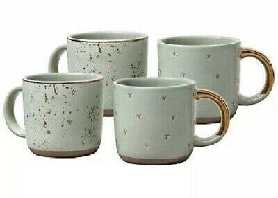 Hearth and Hand Magnolia Mini Coffee Mug 2 pack (set of 4), Green / Sage / -