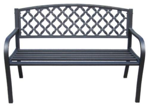 Iron Patio Bench Ebay