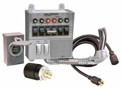 Reliance Control 31406crk 30 Amp 6-circuit Protransfer Generator Switch Kit