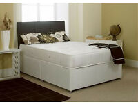 EXCLUSIVE SALE! Brand New Looking! Double (Single + King Size) Bed & Optimum Mattress
