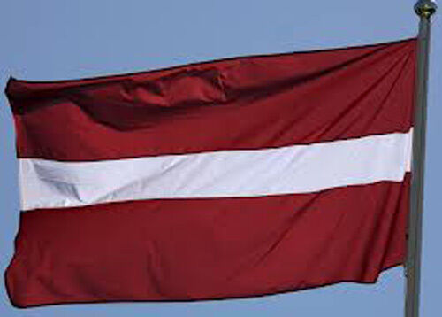 LATVIA LATVIAN FLAG WITH BRASS GROMMETS NEW 3x5 ft better quality usa seller