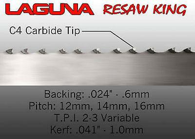 Laguna Tools 1 Resaw King Bandsaw Blade - 153 New Universal Wood Saw Blade
