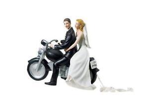 harley davidson wedding cake toppers - Harley Davidson Wedding Rings