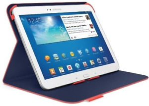 """Protective Case / Samsung Galaxy Tab 3 10.1"""" / Logitech / Red"""