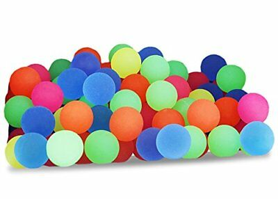 Bouncy Balls Bulk Set  Assorted Colorful Neon Kids Playtime Party Favors 100 pc - Bouncy Balls Bulk