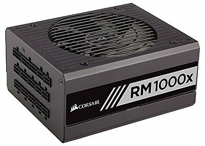 Corsair RMx Series, RM1000x, 1000W, Fully Modular Power Supply, 80+ Gold Certifi