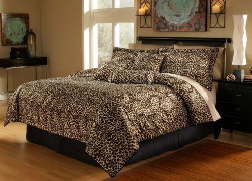 . Leopard Print Bedding Queen   eBay