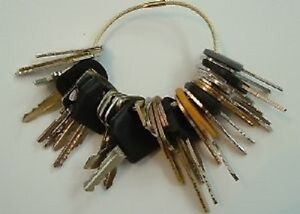 33-Keys-Heavy-Construction-Equipment-Key-Set-NEW