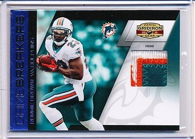 2010 GRIDIRON GEAR RONNIE BROWN GAME BREAKERS 07/50