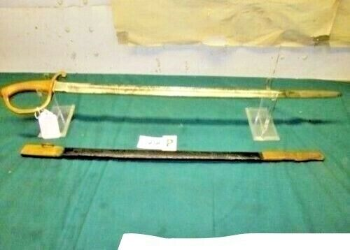 FRENCH NAPOLEONIC OFFICER SWORD & SCABBARD