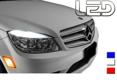 Mercedes Klasse C W204 4 Glühbirnen Weiße LED Nachtlichter 180 200 220 230
