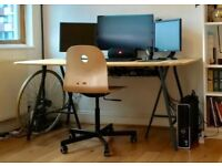Desk and Chair - 50£ or BEST OFFER