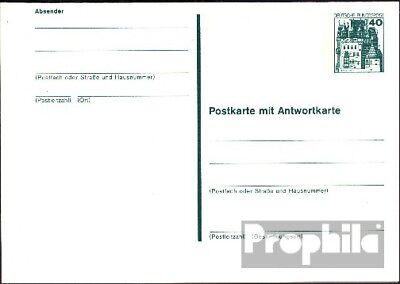 BRD (BR.Duitsland) P123 Officiële Postcard ongebruikte 1977 Kastelen u. Sloten