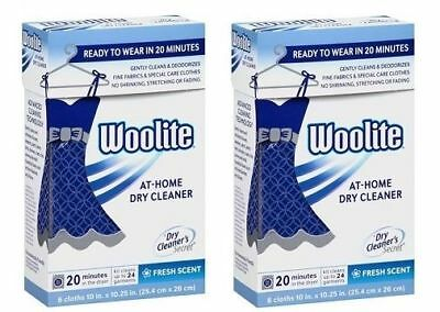 Woolite Dry Cleaners Secret At Home Dry Cleaning Clothes 2 Pack