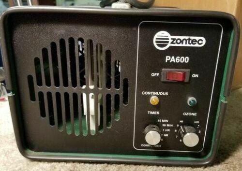 Zontec Paragon Group Electronic Ozone Deodorizer Model PA600