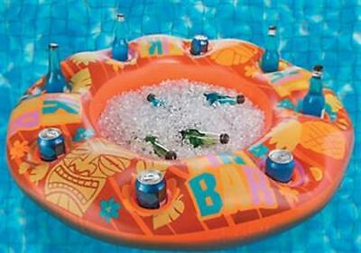 Floating Bar Inflatable pool Float Drink Holder Tiki Bar Swim Up Bar Party