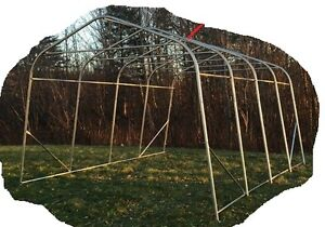 Need tent garage (shelter) frames for a greenhouse