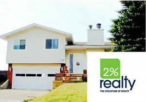 3 Bdrm Home With 2 Garages! - Listed By 2% Inc.