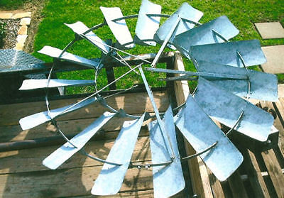 8ft Flint Walling Star 37 Windmill Wheel