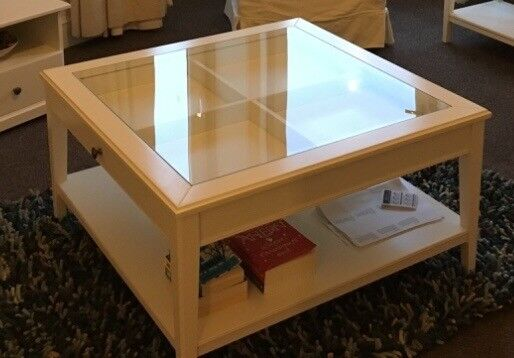 Coffee Table Ikea Liatorp White Glass In Carnoustie Angus
