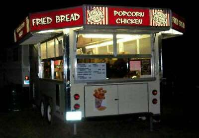 1986 Carnival Style Minnesota Mobile Kitchen Food Concession Trailer For Sale