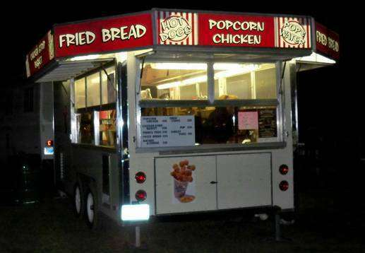 1986 Carnival Style Minnesota Mobile Kitchen Food Concession Trailer for Sale!!!