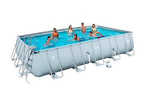 Coleman 22x12 Above-Ground Pool with Salt Water Chlorinator OBO